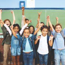 Kid attending charter schools