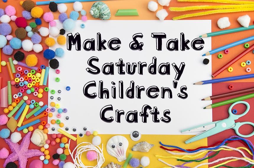 Coppell Arts Center, Saturday Make & Take Crafts