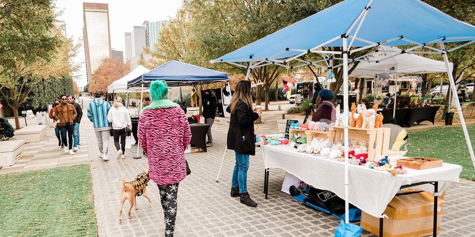 The Boho Market at Klyde Warren Park - DFWChild