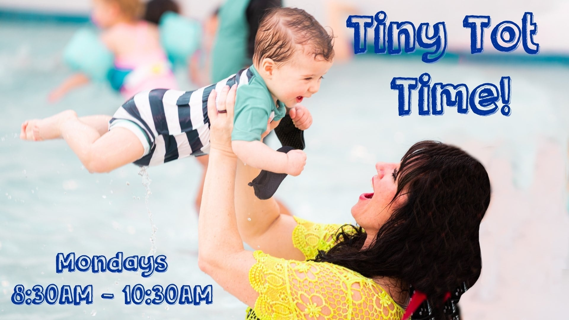 Tiny Tot Time, Epic Waters Indoor Waterpark