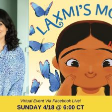 Laxmi's Mooch Children's Book Author Shelly Anand