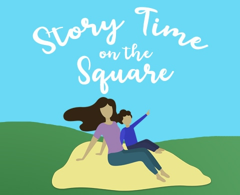 Story Time on the Square, Frisco Library