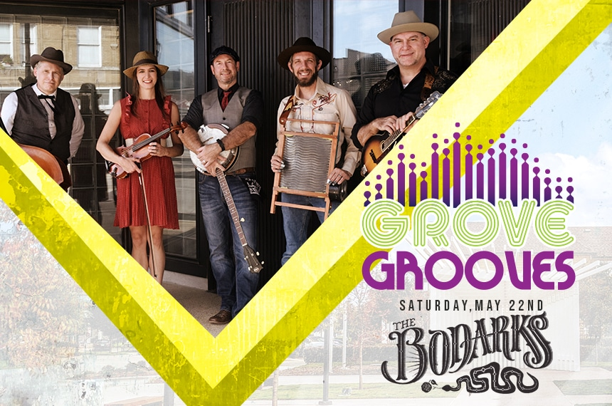 Grove Grooves: The Bodarks, Coppell Arts Center