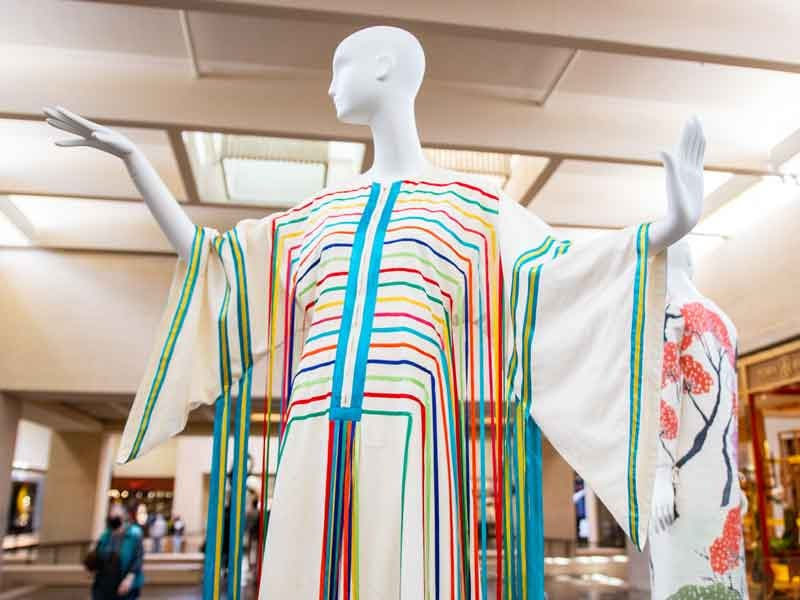 Fashion in Residence exhibit, NorthPark