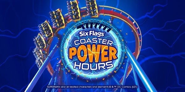 Coaster Power Hours, Six Flags Over Texas