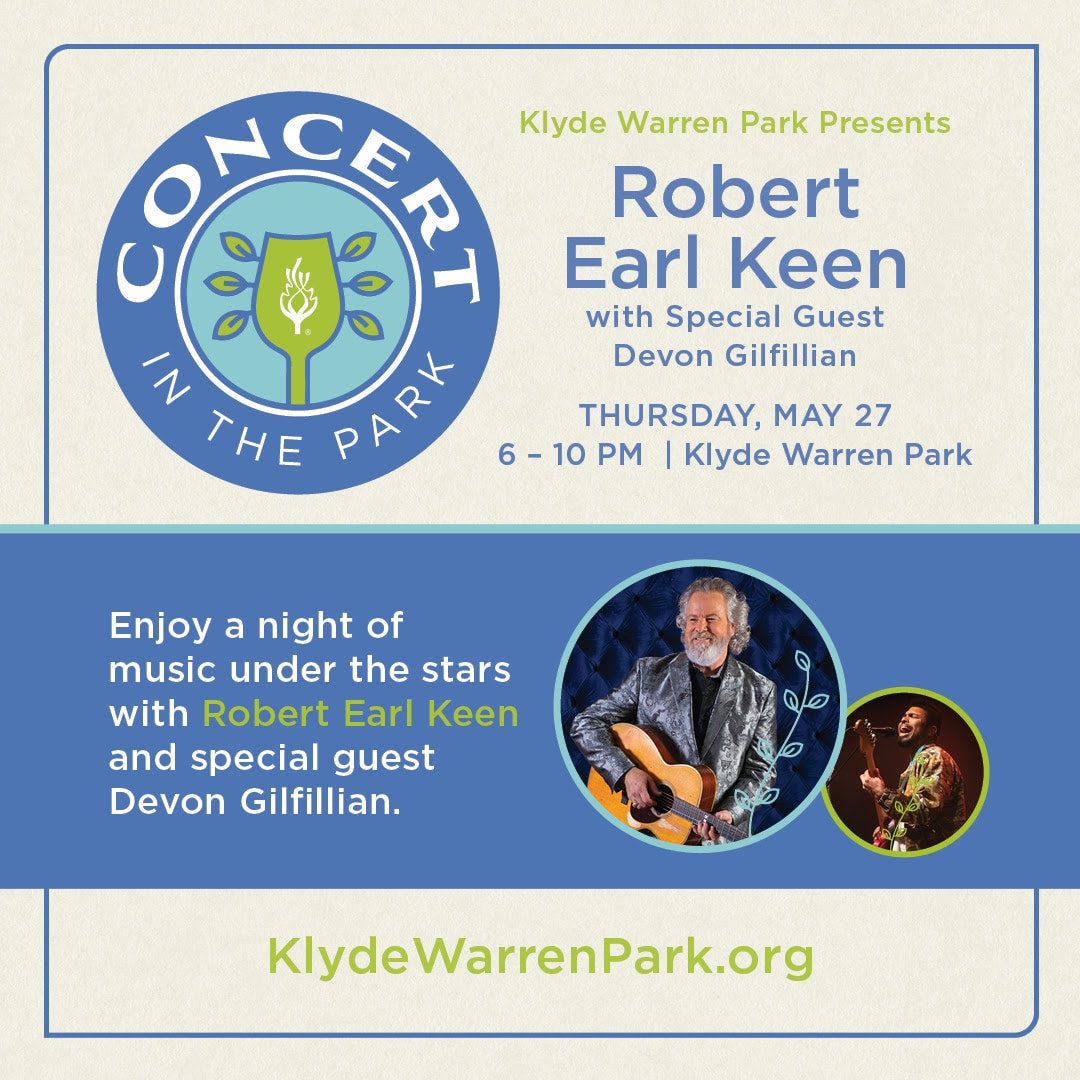 Concert in the Park with Robert Earl Keen