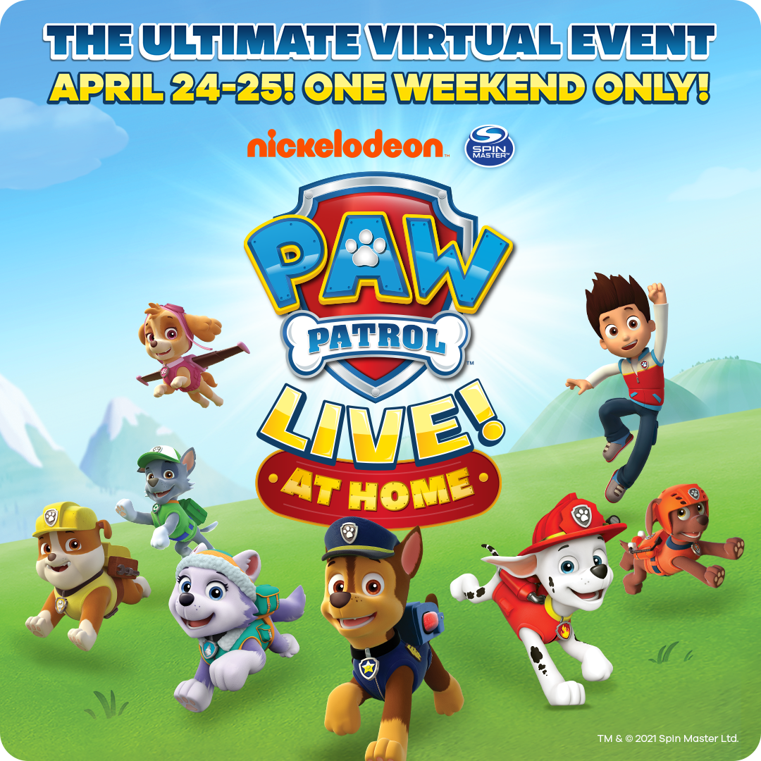 Paw Patrol Live at home
