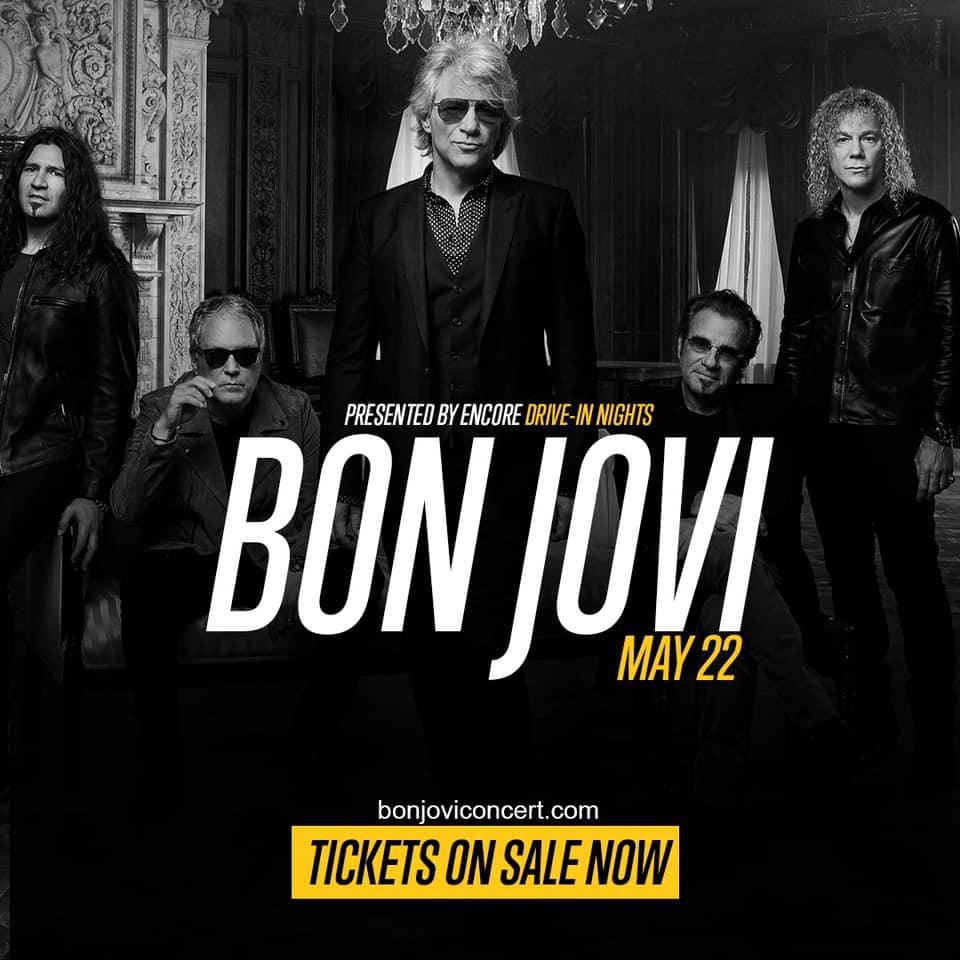 Bon Jovi Concert Drive-In