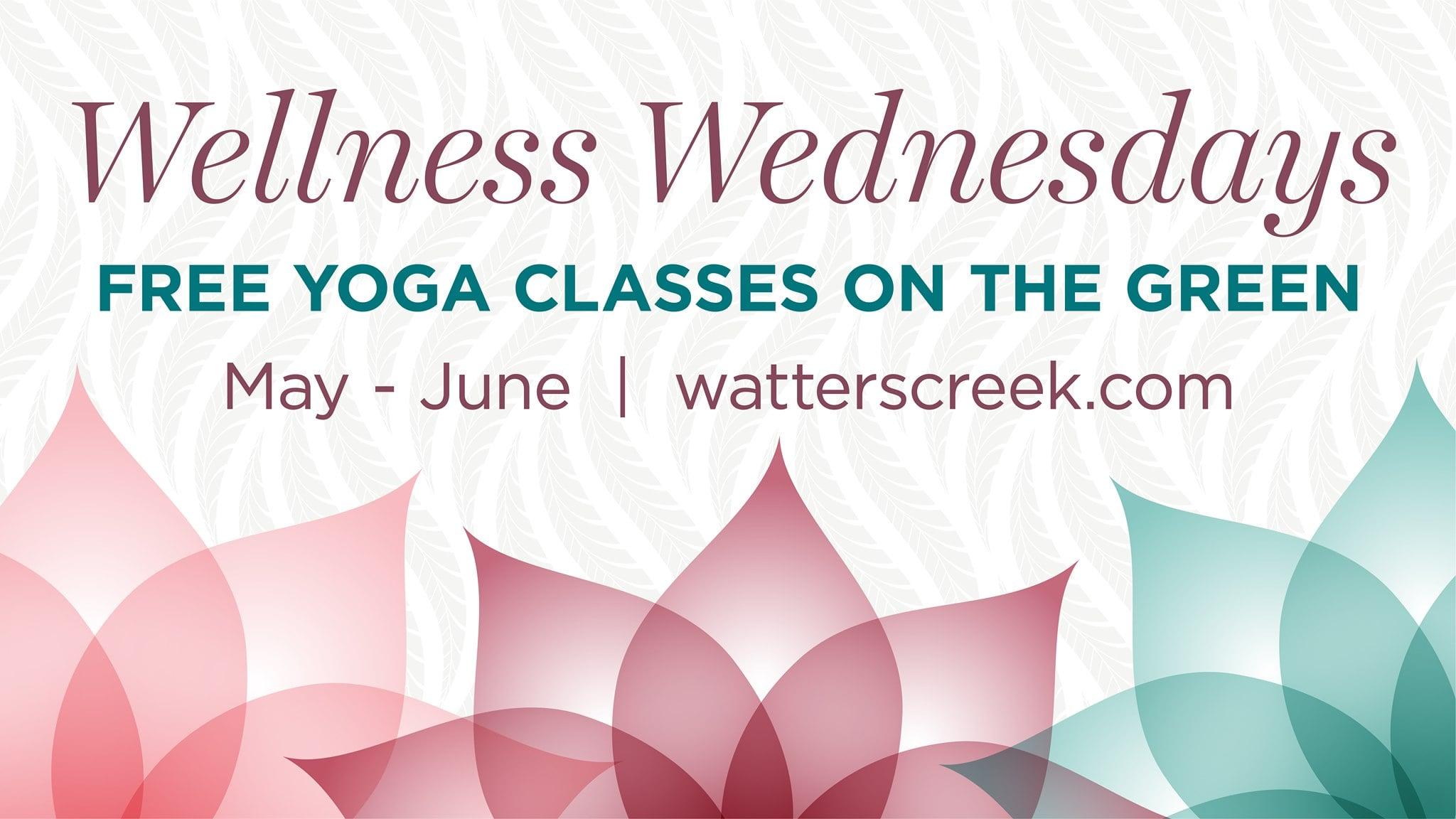 Wellness Wednesdays Yoga, Watters Creek