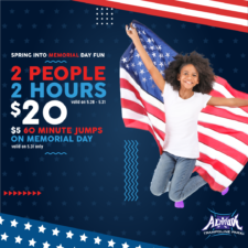Memorial Day Weekend at Altitude Trampoline Park
