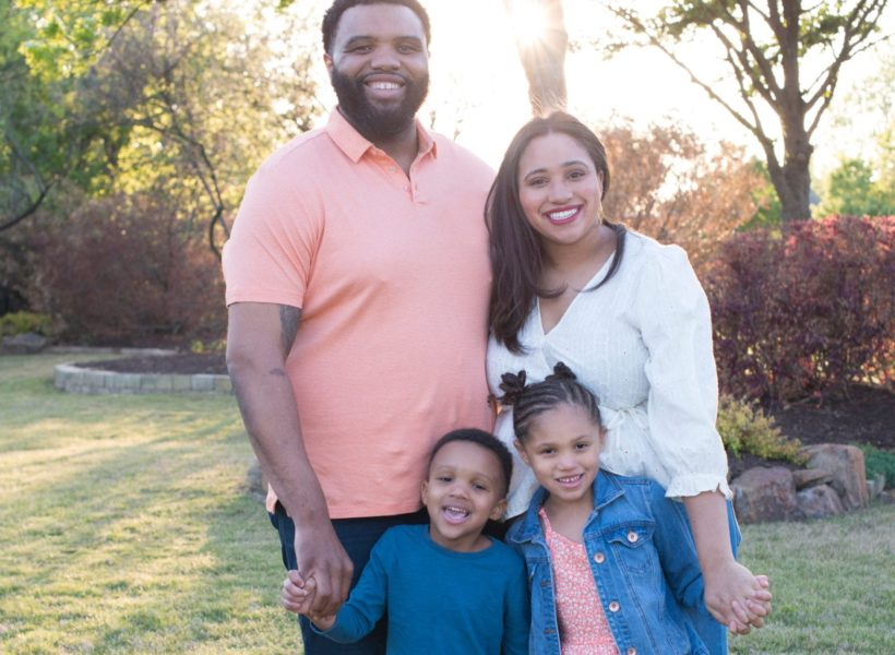 marissa allen of the cookie society with family