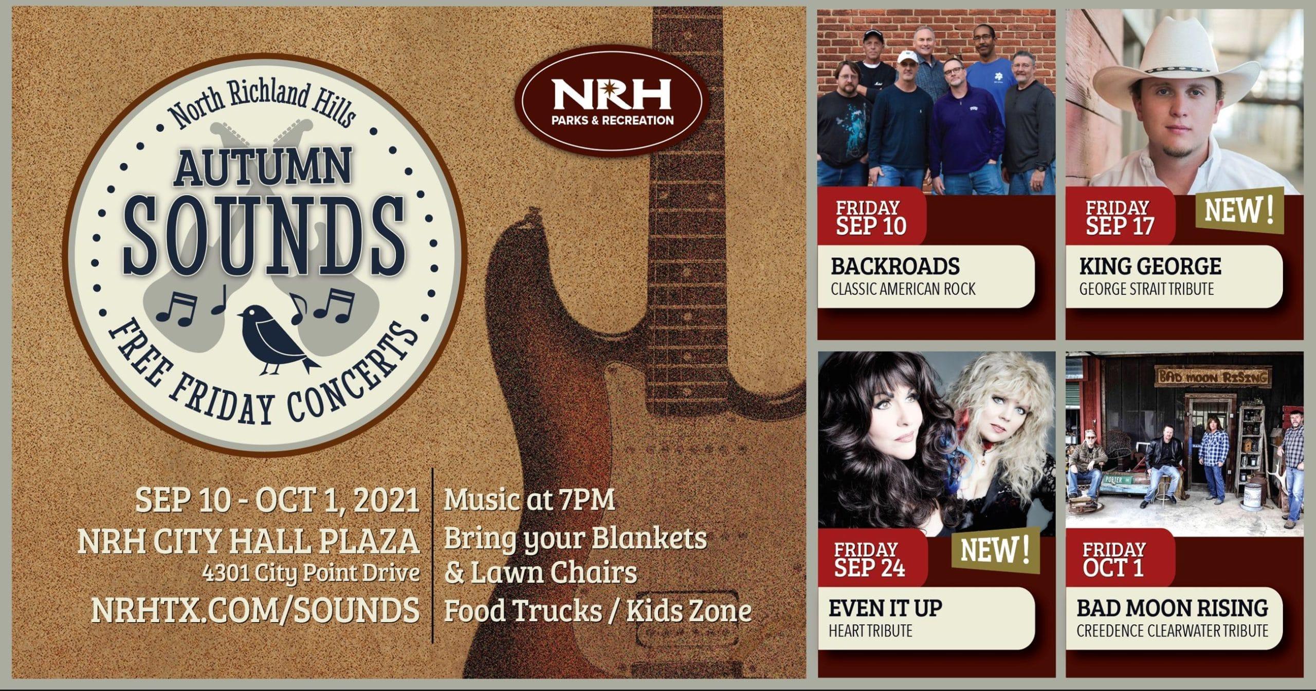 NRH Autumn Sounds Concert Series