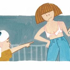 illustration of mom truth parenting moments