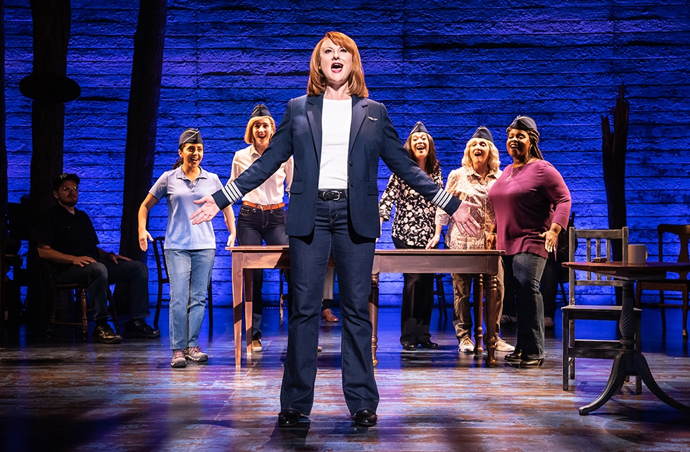 The North American Tour of Come From Away. Photo by Matthew Murphy