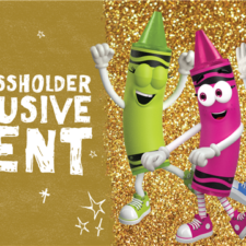 Crayola Gold Annual Passholders Event