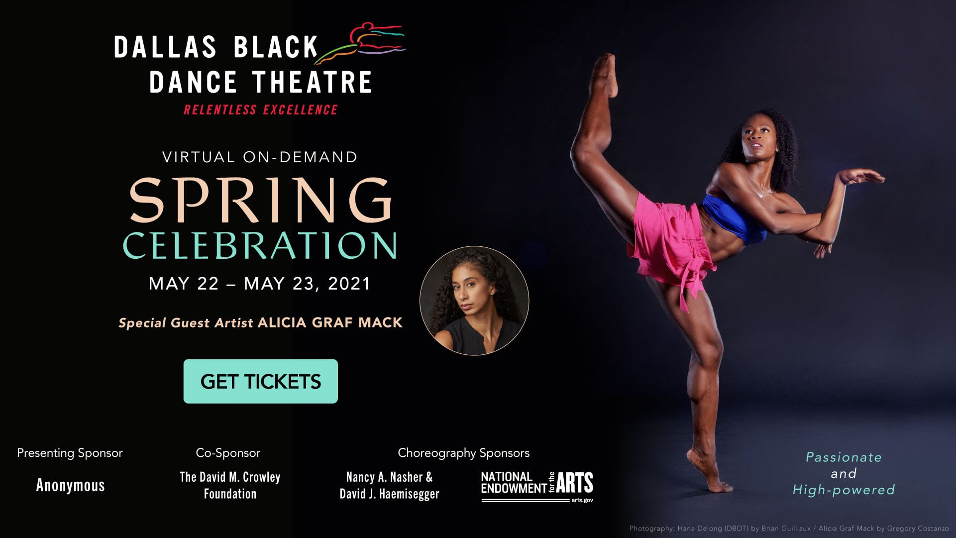 Dallas Black Dance Theatre's Virtual Spring Celebration