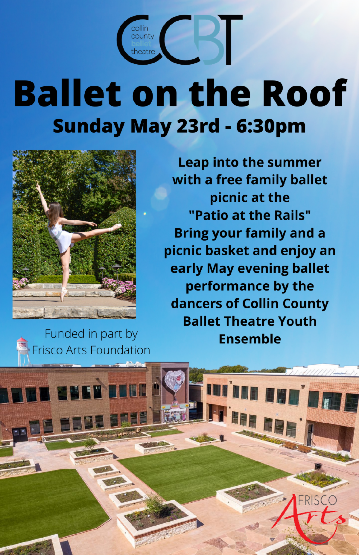 Collin County Ballet Theatre, Patios at the Rail