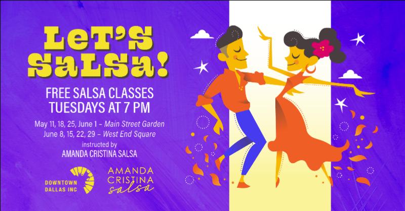 Free Salsa Classes, Downtown Dallas Inc