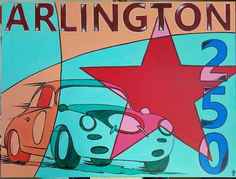 Three Wednesdays Workshops: Vintage Racecar Art Deco Style Painting