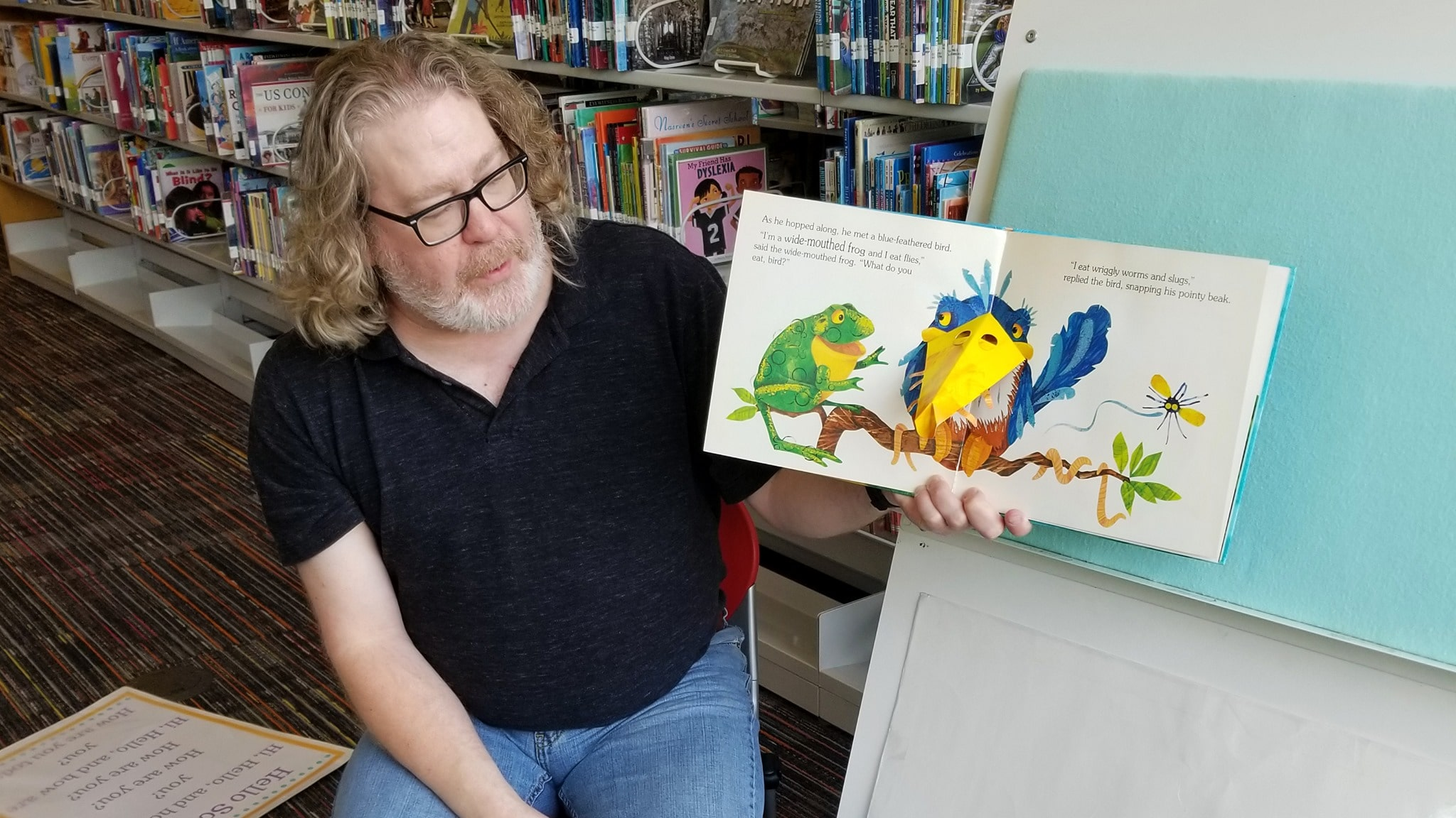 story time at Plano Public Library