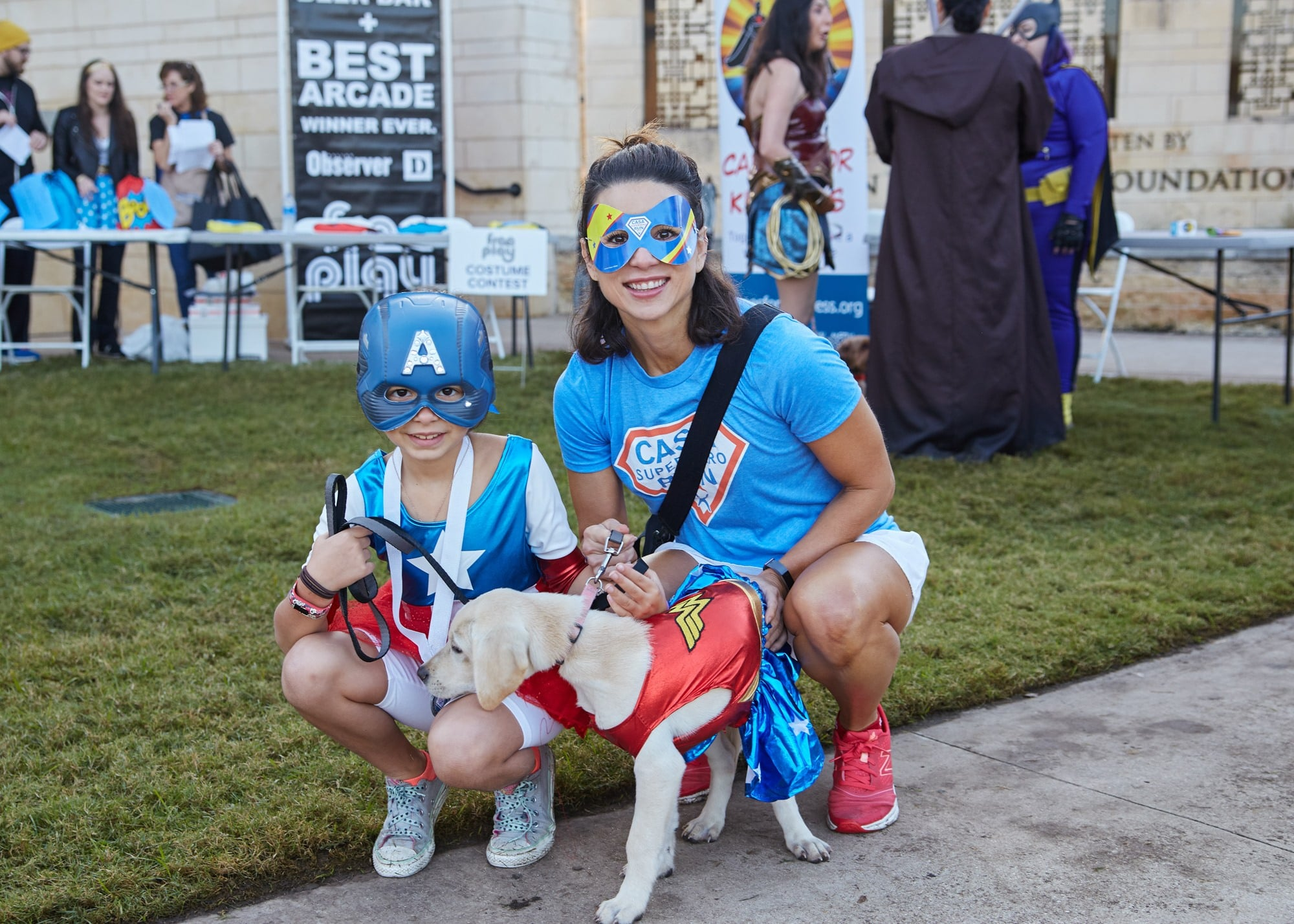 CASA of Tarrant County's Superhero Run