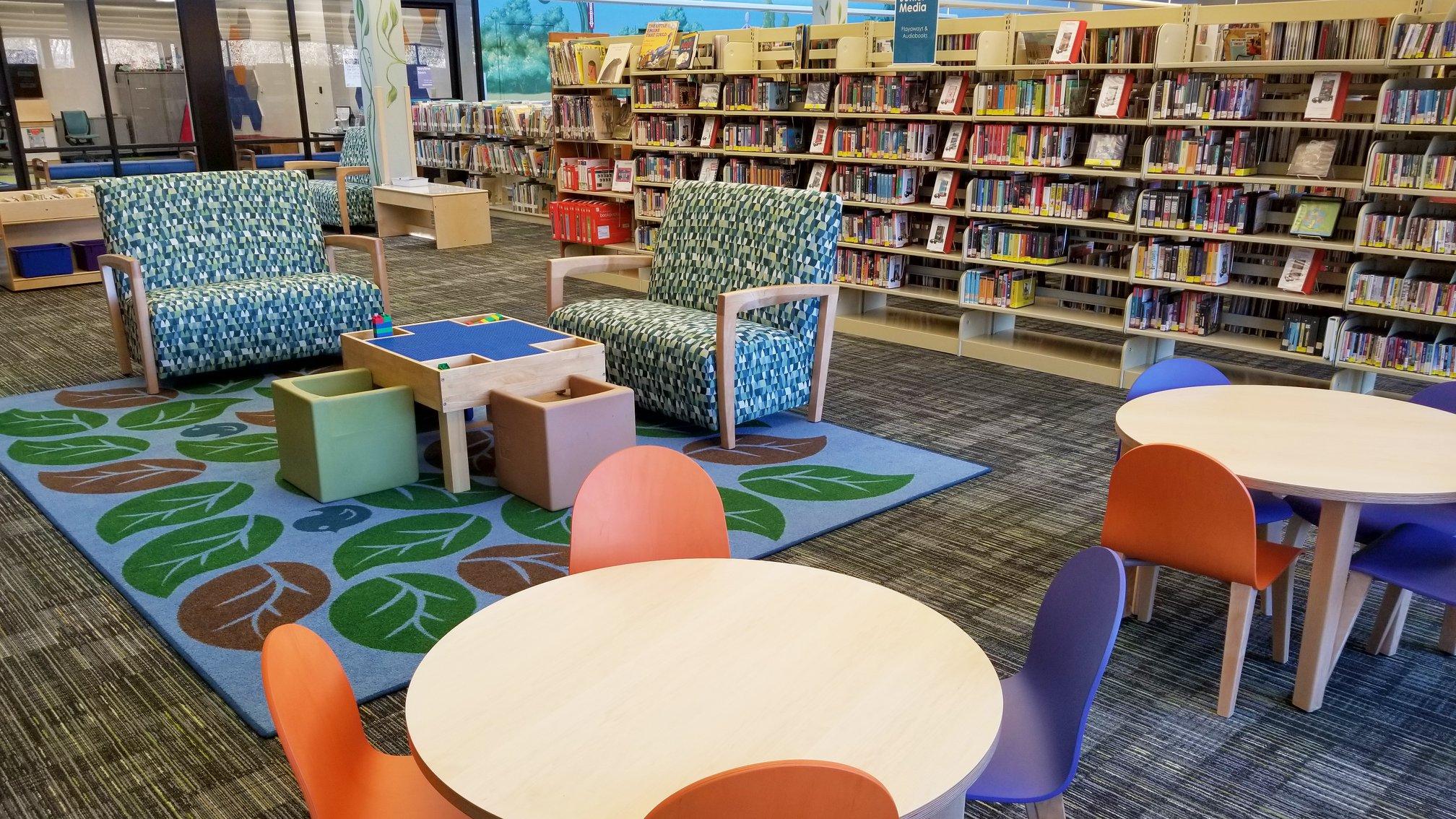 Schimelpfenig Library, Plano
