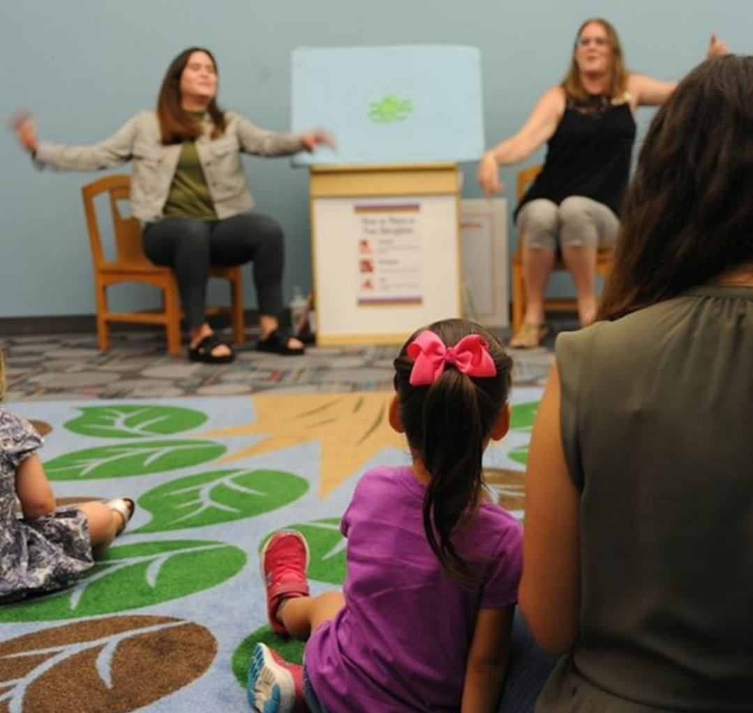 Rhyme Time, Plano library