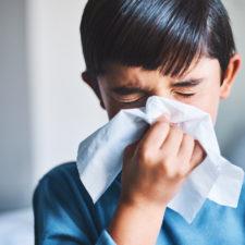 child sick with rsv