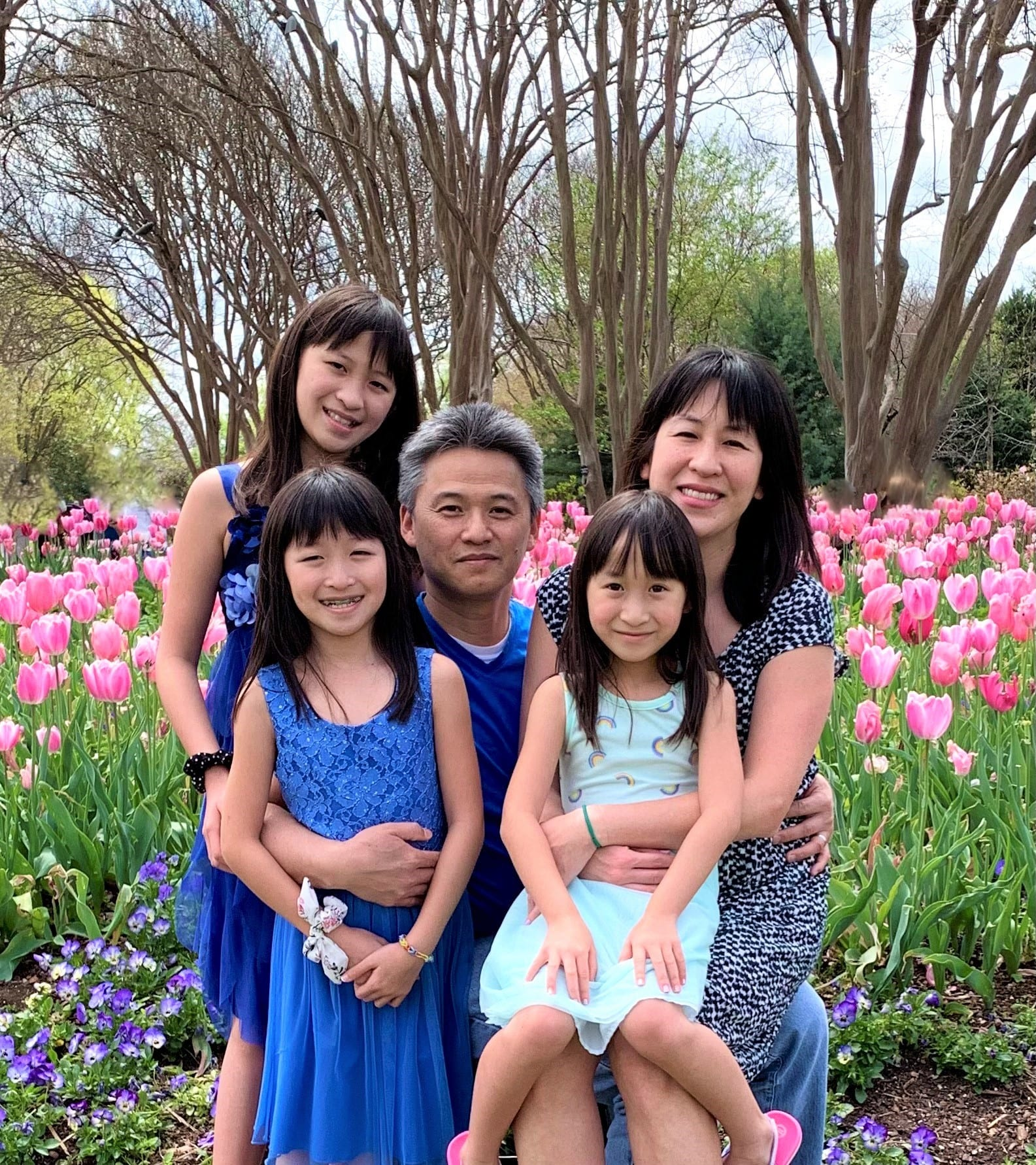dreeny chen with her family