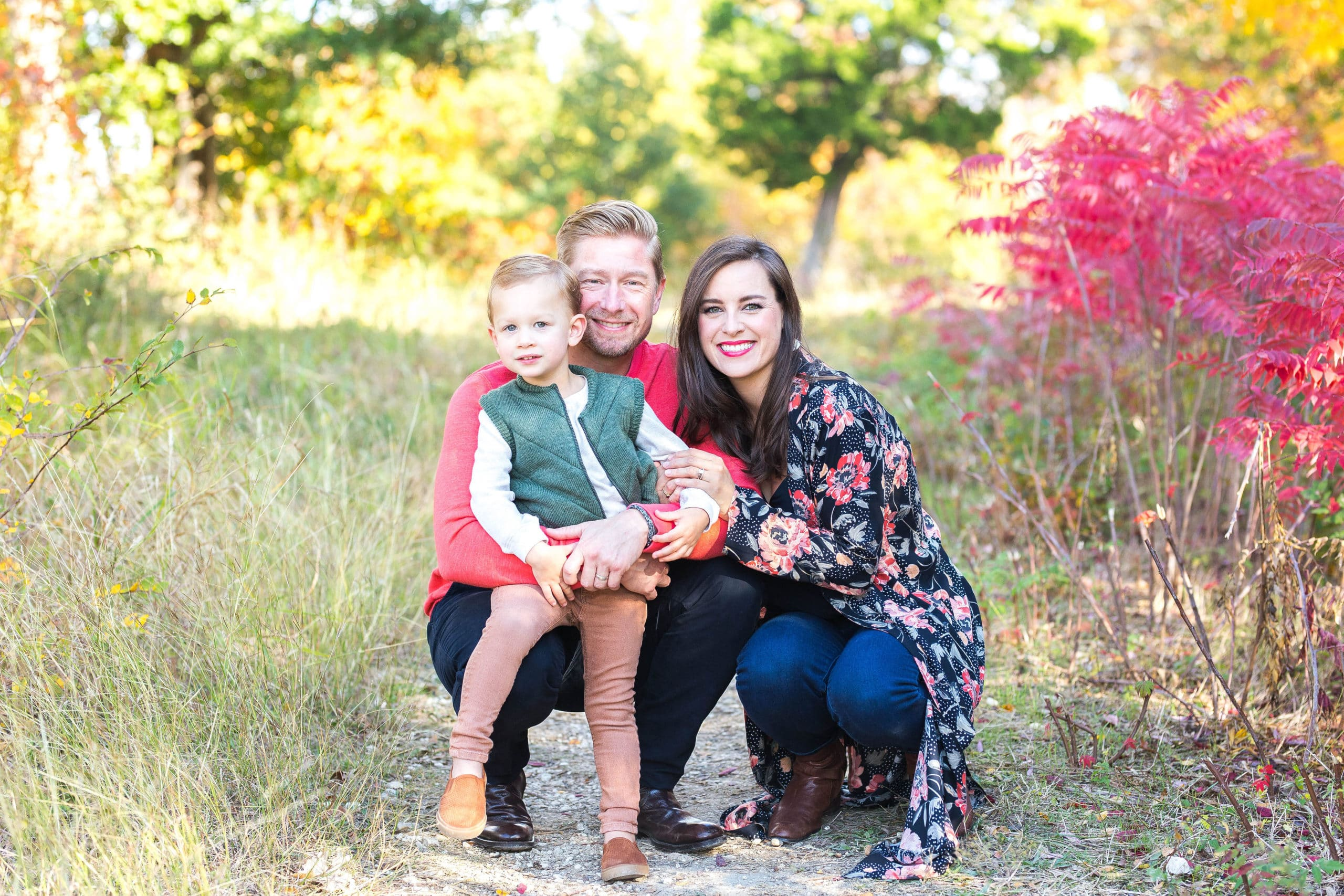 melissa leach with her family