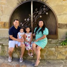 glenda rodriguez with her family