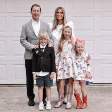 stephany bowman with her family