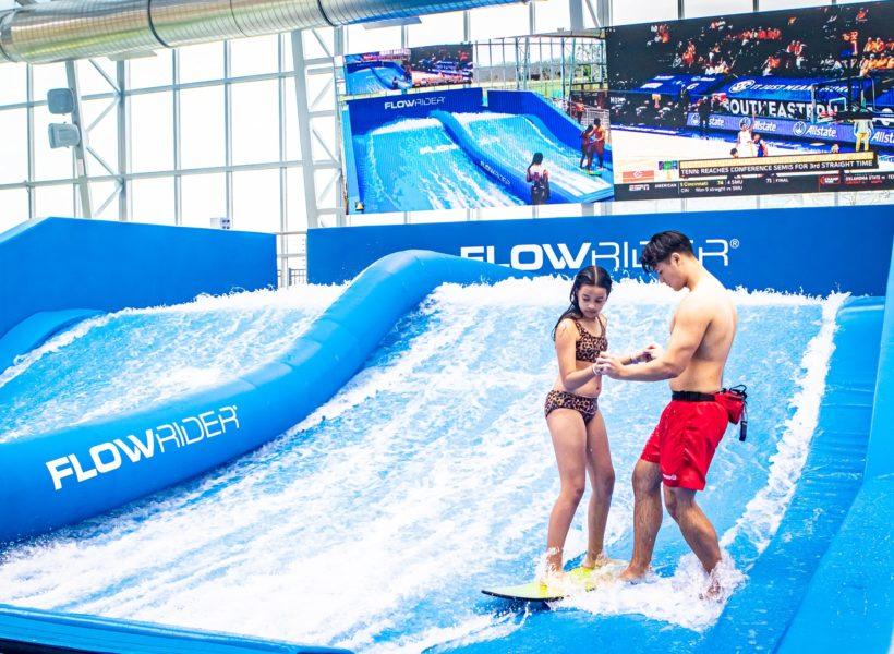 The Cove at The Lakefront, FlowRider surf simulator