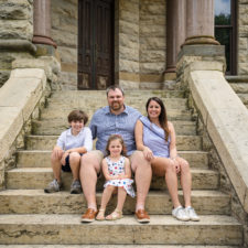 kimberly thaggard and her family