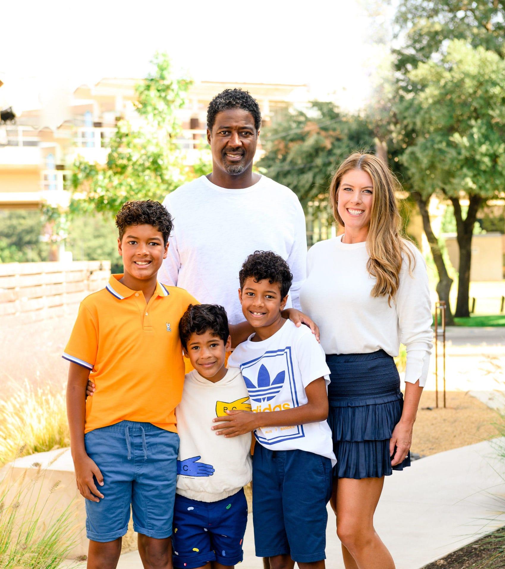 paula brunson with her family