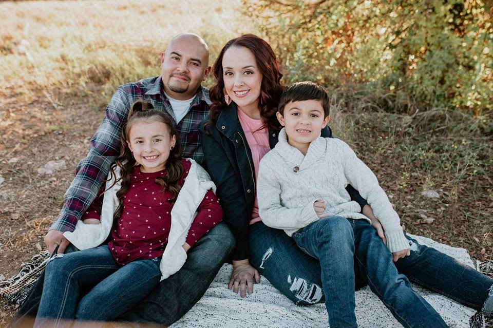kristina james and her family