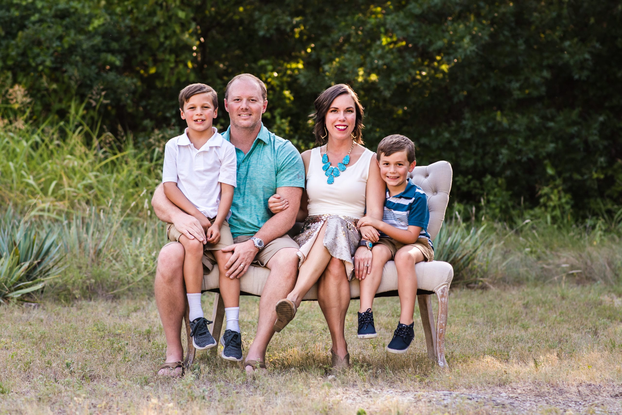 michelle parker and her family
