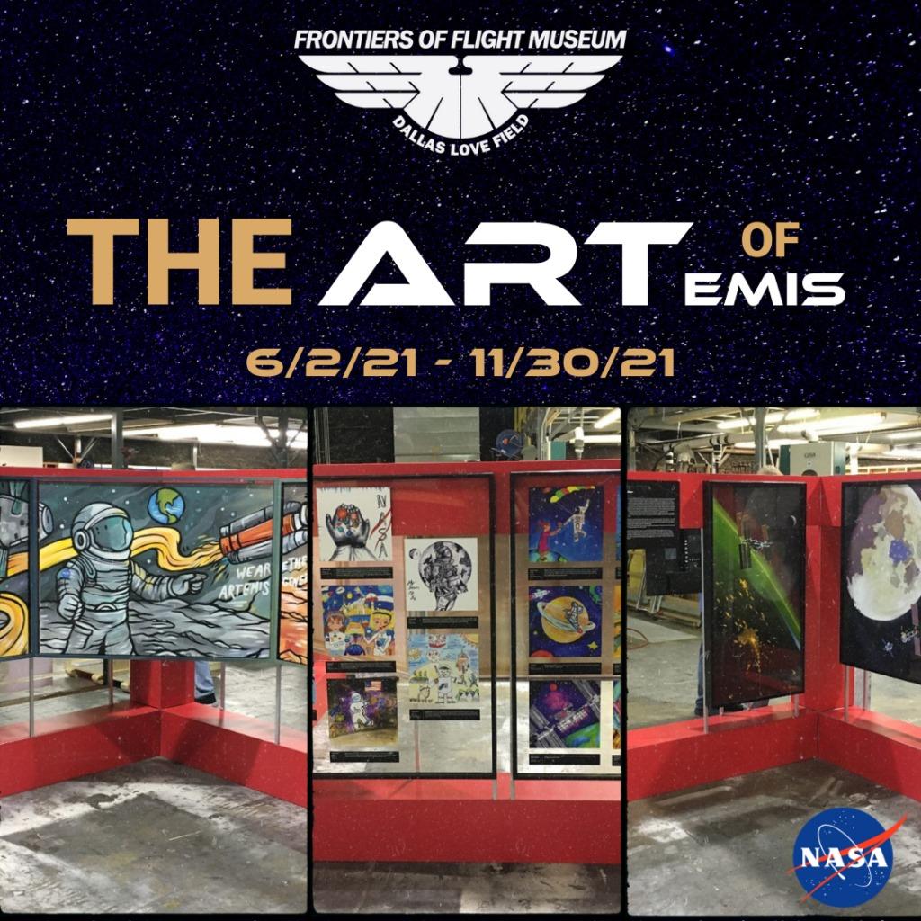 The Art of Artemis, Frontier of Flight Museum