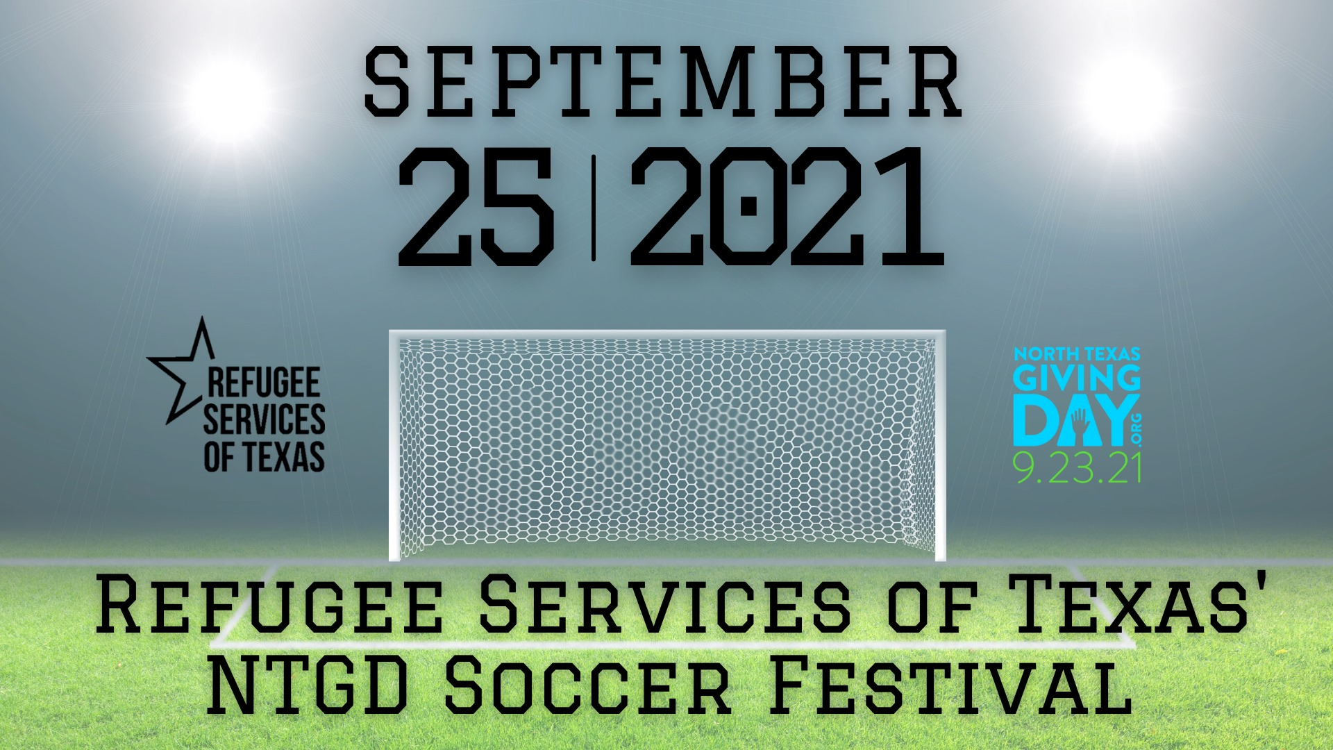 Refugee Services of Texas, North Texas Giving Day Soccer Festival