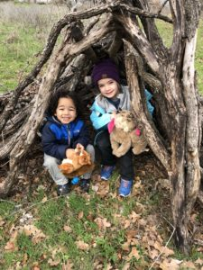 Nature play, Cross Timbers Forest Preschool