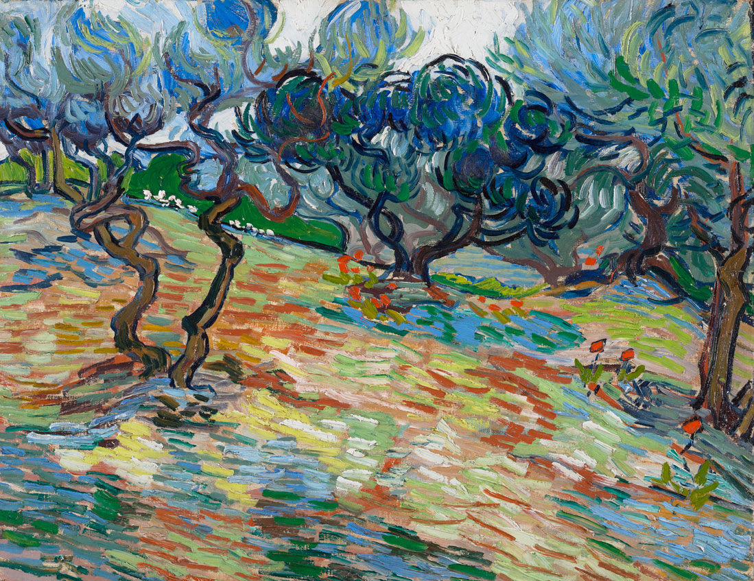 Van Gogh and the Olive Trees exhibit at Dallas Museum of Art