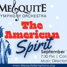 Mesquite Symphony, The American Spirit: 9/11 Memorial Concert