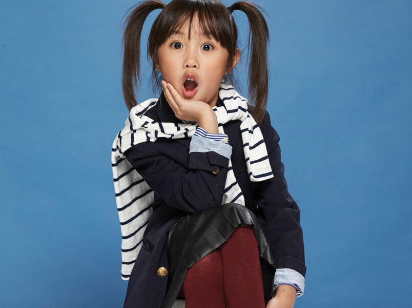 January 2019 CollinChild cover kid Naomi Shih, then 7, of Frisco Cindy James Photography and Gary Parson hair and makeup