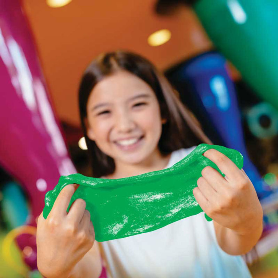 Slime classes at Crayola Experience Plano, Halloween