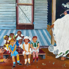 Telling Ghost Stories at Night, by Ruth Mae McCrane Exhibit at African American Museum, Dallas