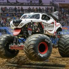 Monster Jam, Monster Mutt Dalmatian driven by Cynthia Gauthier