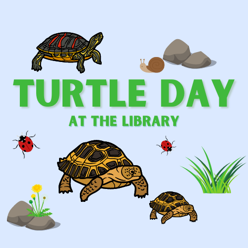 Turtle Day at the Library, photo courtesy of Dallas Public Library