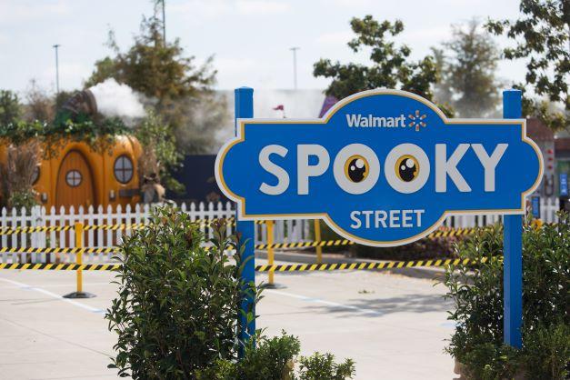 Walmart Spooky Street Trick-or-Treat Experience