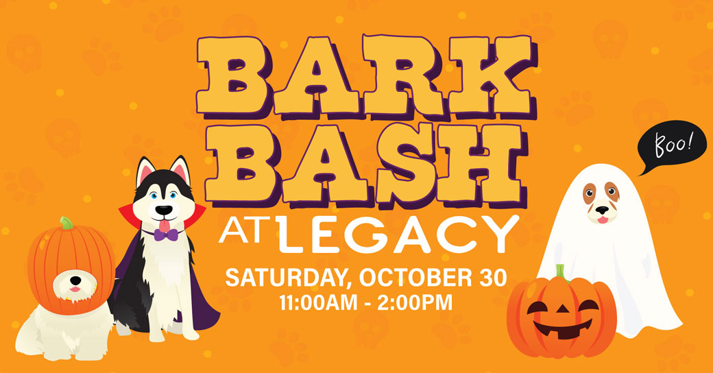 Bark Bash at Legacy Plano, Halloween event for dog owners