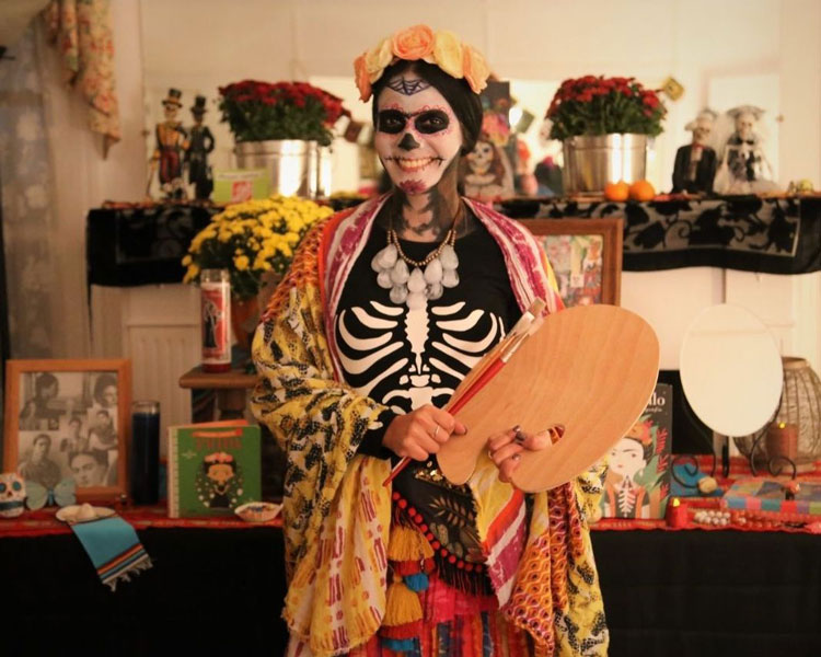 Day of the Dead Celebration, Photo courtesy of Farmers Branch Historical Park